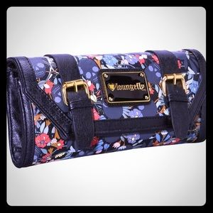 Loungefly Skull Garden Clutch! (USED ONCE)